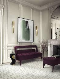 Purple Living Room Set This Modern Living Room Set Showcases The Strength Of Each Design