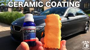 How To Apply A Ceramic Coating To Your <b>Car</b> !! - YouTube