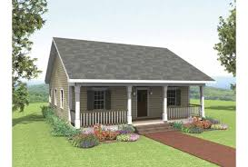Eplans Cottage House Plan   Rustic Cottage   Square Feet and    Front