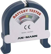 Ansmann 4000001 Battery Tester: Electronics - Amazon.com