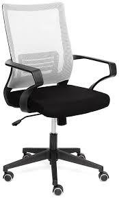 <b>Кресло</b> компьютерное <b>TetChair</b> «<b>Mesh</b>-<b>4</b>» (Чёрн. + серая <b>ткань</b> ...