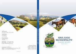 welcome to kwasani municipality kwa sani 2012 2013 annual report final cover