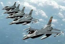 Εικονικός βομβαρδισμός των Φούρνων από την ΤΗΚ - Έξι μαχητικά στα 1000 μέτρα!