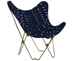 Midcentury Modern <b>Indigo Butterfly Chair</b> Cover - Buy Online in Fiji ...