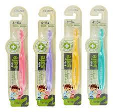 <b>Зубная щетка</b> для детей 4-6 лет Kids Safe Toothbrush <b>CJ LION</b> ...