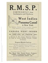 steamships transported west ns tourists and writers advertisement in the pocket guide to the west indies and noted by austin harrigan and alexander