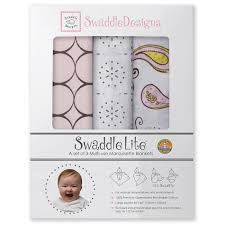 <b>Набор</b> пеленок <b>SwaddleDesigns</b> SwaddleLite Modern Pink Купить ...