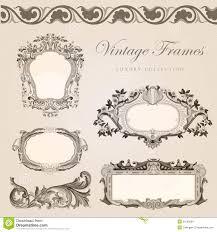 vintage invite template anuvrat info retro wedding invitation template vintage frames stock images