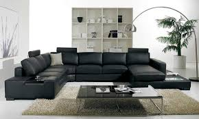 living room outstanding black leather sofa receiving visitors in style knowledgebase photo of new black leather sofa