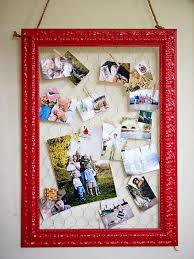 use old frame painted and wire to creatue a fun memo board designing beautiful home offices ways