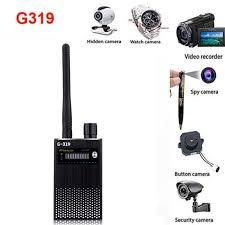 G319 <b>Anti</b>-<b>Spy</b> Gps Signal Lens Rf Tracker <b>Hidden Camera</b> Gsm ...