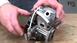 Echo Trimmer <b>Repair</b> – How to replace the <b>Piston Ring</b> - YouTube