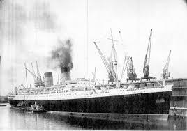 Image result for rms mauretania 1939