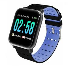 <b>Beaulyn</b> A6 Smart Watch Heart Rate Monitor Sport <b>Fitness Tracker</b> ...