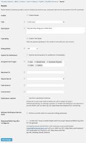 realex redirect payment gateway woocommerce docs woocommerce realex redirect settings