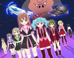 Bishoujo Yuugi Unit Crane Game Girls Galaxy 10 sub español online