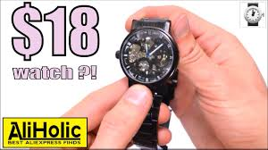 <b>Mechanical</b> watches for $18?! Are they really worth it? #AliExpress ...