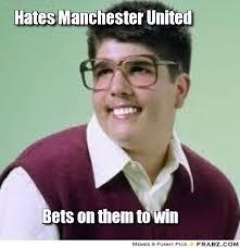 Hates Manchester United... - Meme Generator Captionator via Relatably.com