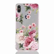 A <b>TPU Hollow Flower Painting</b> Phone Case for iPhone XS Max Sale ...