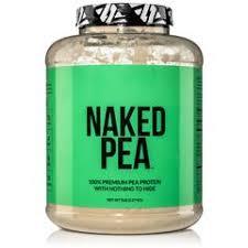 <b>Pea Protein</b> Powder 5lb - <b>Vegan</b> & Gluten Free - Naked Pea