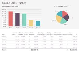 Free Templates for Office Online - Office.com Online Sales Tracker