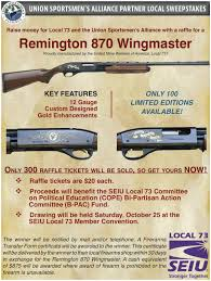 remington wingmaster raffle