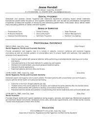 dental hygienist resumefree resume templates