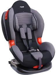<b>Siger Автокресло Кокон IsoFix</b> цвет серый от 9 до 25 кг — купить ...