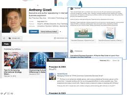examples of highly impactful linkedin profiles as all of the other examples anthony gioeli s profile covers all of the fundamentals including a cover photos and published linkedin contributions