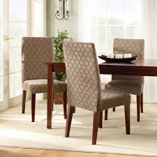 Suede Dining Room Chairs Slipcovers Dining Room Chairs Marvelous Red Parsons Chair