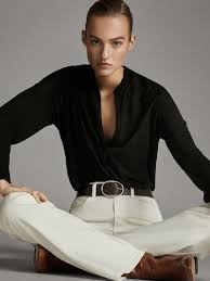 <b>Women's Long Sleeve</b> Tops   Massimo Dutti Spring Summer <b>2019</b>