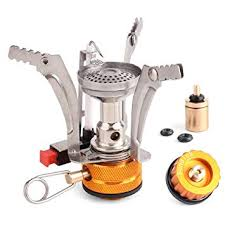 Lixada <b>Camping Gas Stove</b>,Ultralight Mini Pocket <b>Stove Split Burner</b> ...
