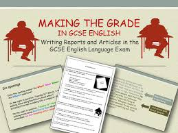 GCSE English Language Paper    Section B      Reports   YouTube YouTube
