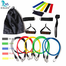 <b>11pcs</b>/<b>set</b> Pull Rope Fitness Exercises <b>Resistance Bands</b> Crossfit ...