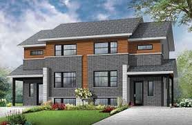 Multi family House Plans  amp  Investment Properties from    Joey Modern unit apartment   x one bedroom and x three bedroom units