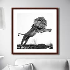 Фотография <b>Lion King</b> master, 78,5х78,5см, <b>Картины</b> в Квартиру ...