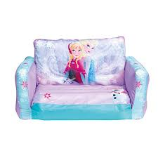 Disney Frozen 2 in 1 <b>Inflatable</b> Flip Out <b>Mini Sofa</b> & Lounger ...