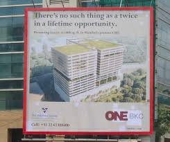 real estate to triumph ooh printweek the outdoor advertisement for the wadhwa group
