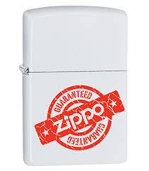 <b>Зажигалка Zippo</b> 29547 <b>Guaranteed</b> White Matte|<b>Zippo</b>-<b>zippo</b>.ru ...