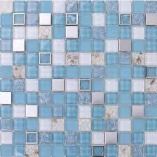 blue glass mosaic walls blue glass mosaic tile mother of peal tile kitchen backsplash ssmt sta