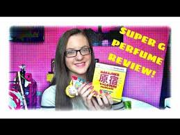 MinnieMollyReviews   <b>Super</b> G By <b>Harajuku Lovers</b> Perfume Review ...