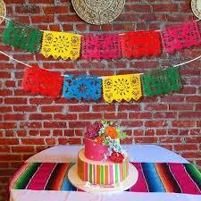 <b>Ourwarm</b> 9pcs <b>Mexican</b> Banner Felt Flag Papel Picad <b>Mexican</b> ...