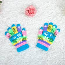 <b>Двухслойные</b> плотные вязаные <b>перчатки</b> с цветным рисунком ...