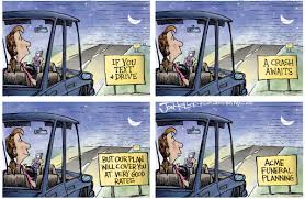 Distracted Driving Cartoons via Relatably.com