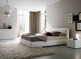 amazing grey bedroom decorating color schemes with contemporary bedroom furniture and white leather bed frame along bedroom furniture modern white design
