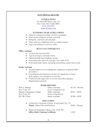 office assistant resume objective good administrative assistant office administration sample resume