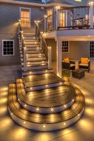 deck stairway outdoor stairway stairway idea curved stairs deck lighting ideas patio lighting awesome lighting landscape lighting trex outdoor awesome modern landscape lighting design ideas bringing