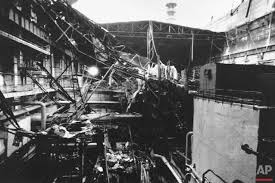 30 years of photographing chernobyl ap images spotlight this friday oct 13 1991 photo shows part of the collapsed roof at