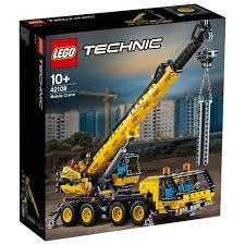 <b>Конструктор LEGO Technic</b> 42108 <b>Мобильный</b> кран