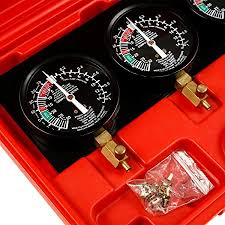 SLMOTO New Fuel <b>Vacuum Carburetor Synchronizer Sync Gauge</b> ...